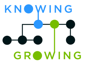 Knowing Growing logo